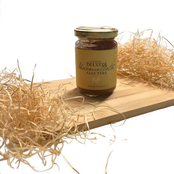 Marmellata di Pere e Zenzero confettura fatta a mano vendita online